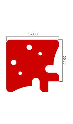 Desenho Tecnico do Produto Nobre 095