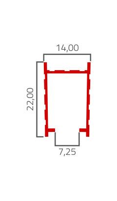 Desenho Tecnico do Produto BX 01