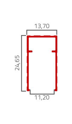 Desenho Tecnico do Produto BX 24