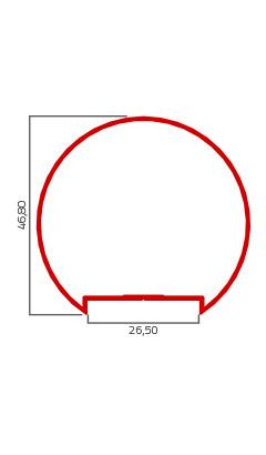 Desenho Tecnico do Produto GR 007